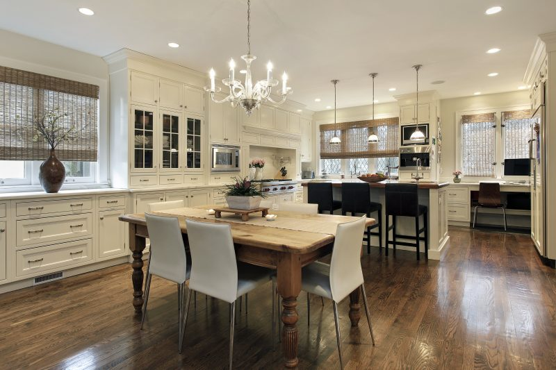 Luxury kitchen new construction